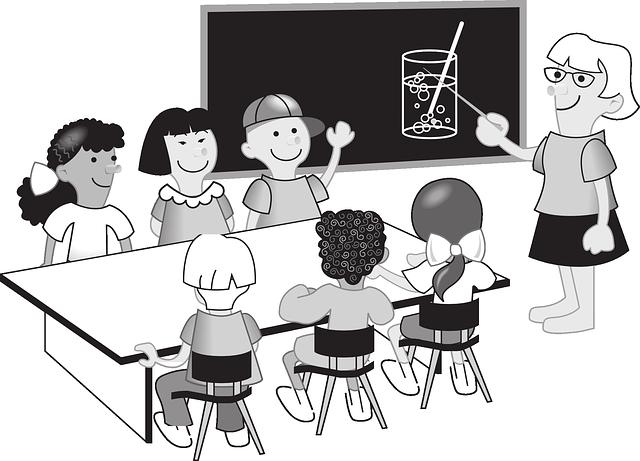 učitelka u tabule