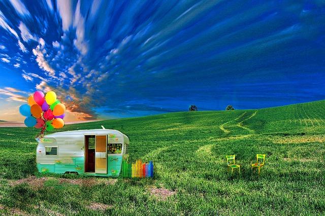 veselý karavan