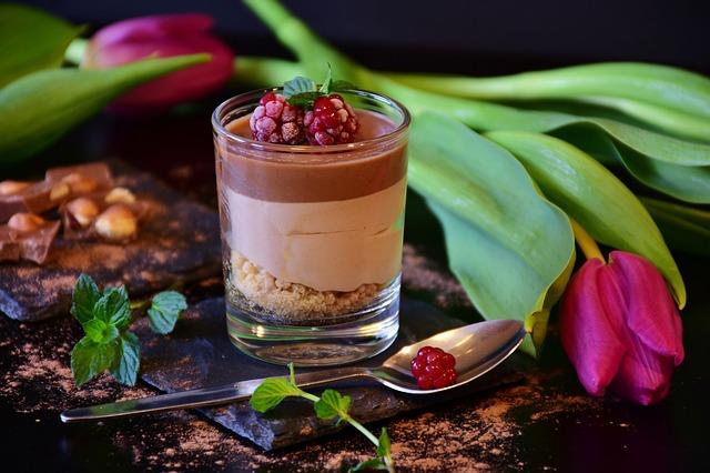 nugátový dezert