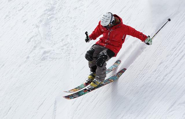 strakaté lyže
