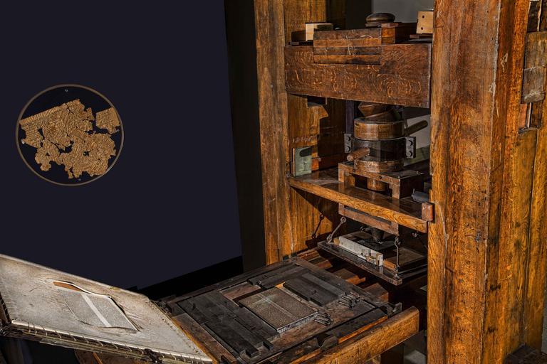 stařičká tiskárna