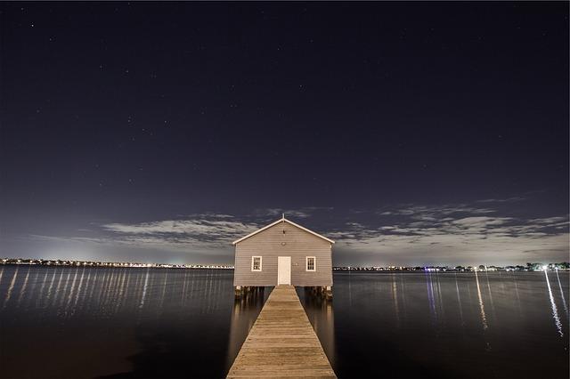 dům v přístavu